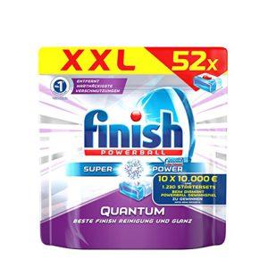 قرص ماشین ظرفشویی فینیش (finish) کوانتوم محصول آلمان 52 عددی