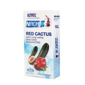 کاندوم ناچ کودکس Nach KODEX مدل RED CACTUS