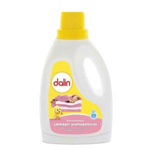 مایع نرم کننده لباس کودک dalin حجم (2lit)