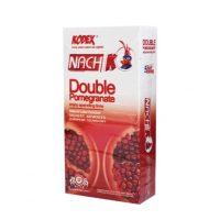 کاندوم  ناچ کودکس Nach KODEX مدل DOUBLE Pomegranate