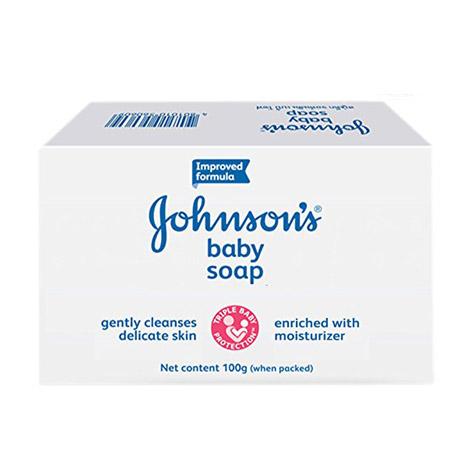 صابون بچه جانسون Johnson مدل baby soap وزن (100gr)