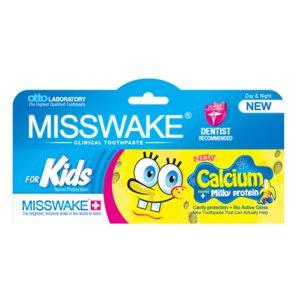 خمير دندان کودک میسویک MISSWAKE مدل Bob Sponje حجم (50ml)