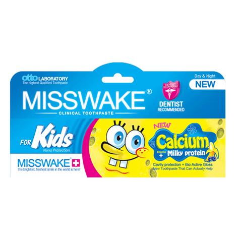 خمیر دندان کودک میسویک MISSWAKE مدل Bob Sponje حجم (50ml)