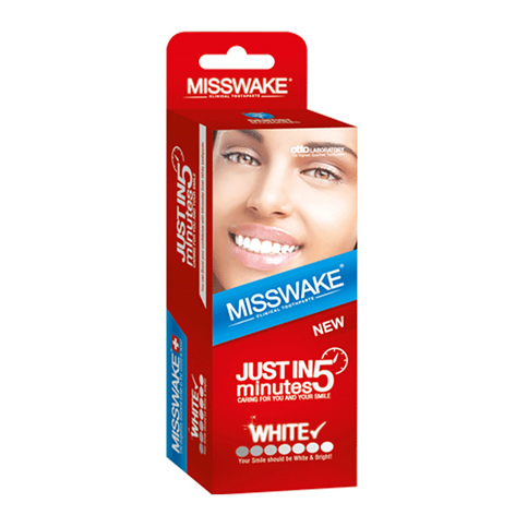 خمیر دندان MISSWAKE مدل JUST IN 5 minutes