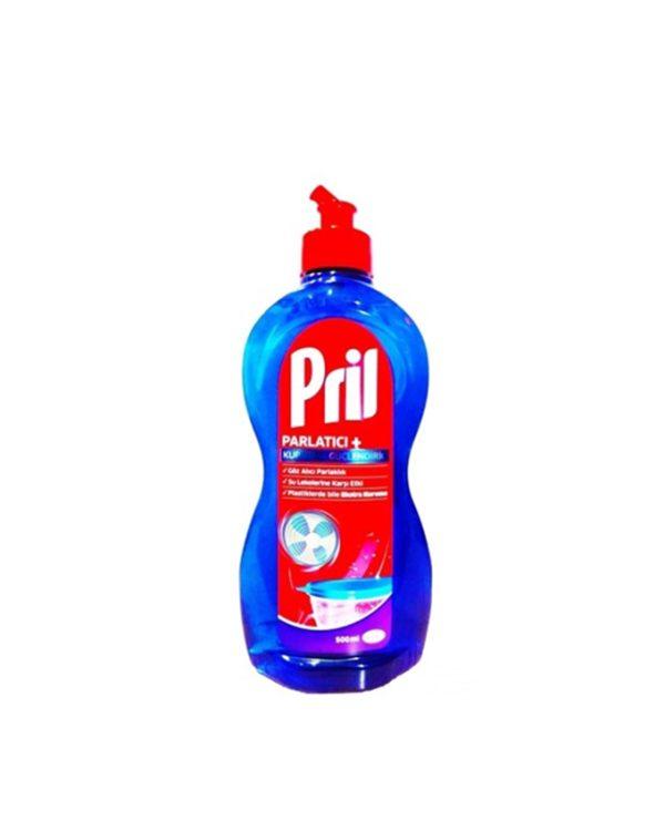 مایع براق کننده ماشین ظرفشویی پریل Pril حجم (500ml)