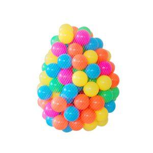 توپ های رنگی 50 عددی