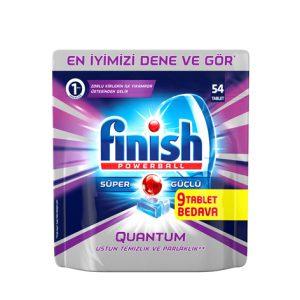 قرص ماشین ظرفشویی فینیش (finish) کوانتوم 54 عددی