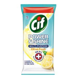 دستمال Cif تمیزکننده چندمنظوره 15 برگی