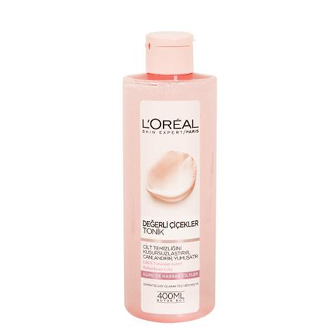 محلول شیر پاک کن اورآل (LOREAL) رایحه گل رز و یاسمن (400ml)