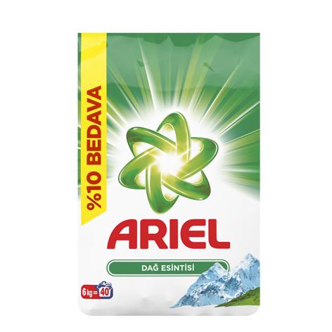 پودر ماشین لباسشویی آریل (Ariel) وزن (6kg)