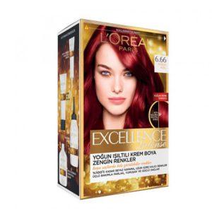 رنگ موی سر لورآل (LOREAL) شماره 6.66