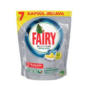 قرص ماشین ظرفشویی فیری (Fairy) پلاتینیوم 45 عددی