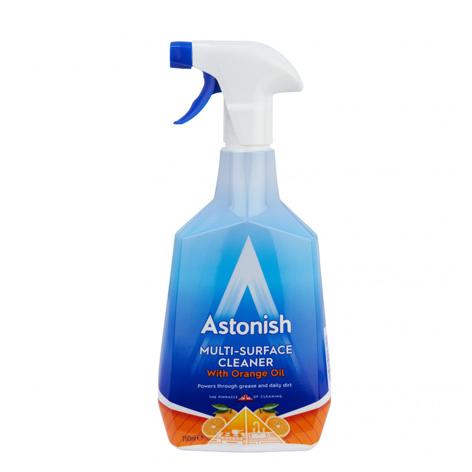 اسپری تمیزکننده چندمنظوره استونیش (Astonish) با عصاره پرتقال