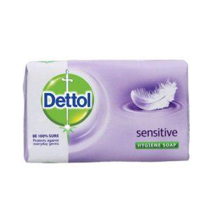 صابون دتول (Dettol) مدل sensitive وزن (۱۰۵gr)