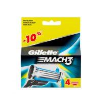 تیغ یدک ژیلت Gillette مدل MACH3 بسته 4 عددی