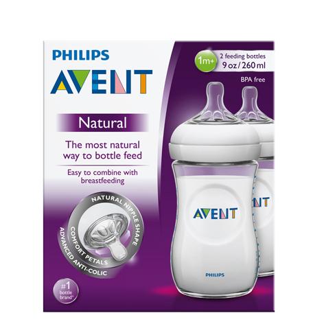 شیشه شیر PHILIPS AVENT دوقلو (260ML)