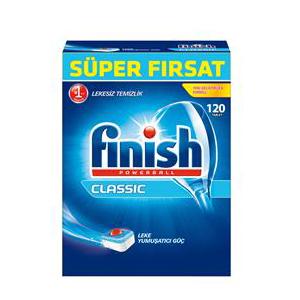 قرص ماشین ظرفشویی فینیش (finish) کلاسیک 120 عددی