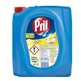مایع ظرفشویی پریل Pril رایحه لیمو (4L)