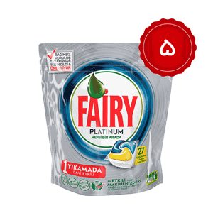 قرص ماشین ظرفشویی فایری (Fairy) پلاتینیوم 135 عددی