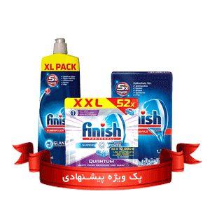 پک ماشین ظرفشویی فینیش (finish)