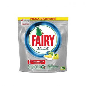 قرص ماشین ظرفشویی فیری (Fairy) پلاتینیوم 90 عددی