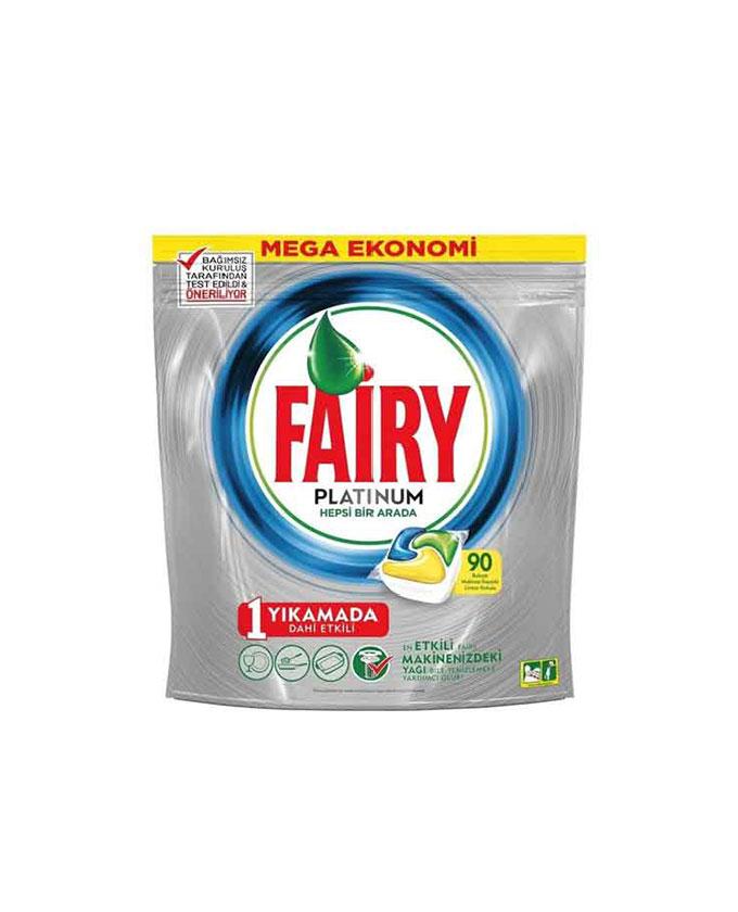 قرص ماشین ظرفشویی فیری – Fairy پلاتینیوم 90 عددی