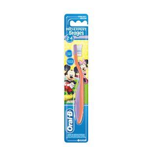 مسواک کودک اورال بی (OralB) کودکان 2 تا 4 سال