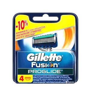 تیغ یدک ژیلت (Gillette) مدل 4 عددی FUSION PROGLIDE POWER