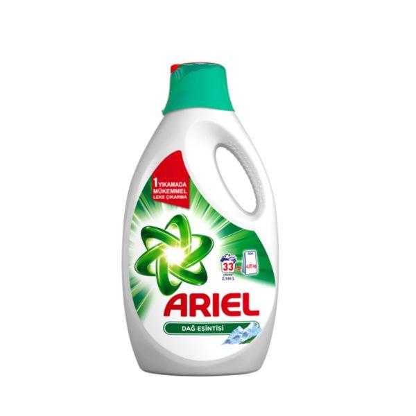 مایع ماشین لباسشویی آریل (Ariel) رایحه نسیم کوهستان (۲٫۱۴۵L)
