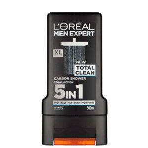 شامپو مردانه اورآل (LOREAL) مدل TOTAL CLEAN همه کاره (۳۰۰ml)