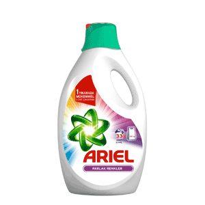 مایع ماشین لباسشویی آریل (Ariel) مناسب لباس های رنگی و روشن (1٫56L)