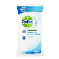 دستمال پاک کننده سطوح دتول (Dettol) آنتی باکتریال 15 برگی