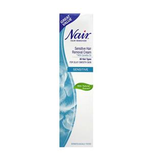 کرم موبر نیر (Nair) مناسب پوست و موی حساس (80ml)