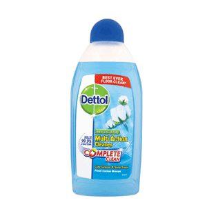 پاک کننده چندمنظوره سطوح دتول Dettol با رایحه پنبه تازه (۴۵۰ml)