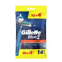 خودتراش ژیلت Gillette مدل Blue2 بسته 14 عددی