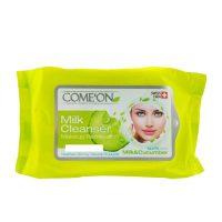 دستمال مرطوب کننده کامان - COMEON مخصوص چشم و شیر پاک کن