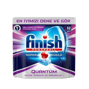 قرص ماشین ظرفشویی فینیش (finish) کوانتوم 32 عددی