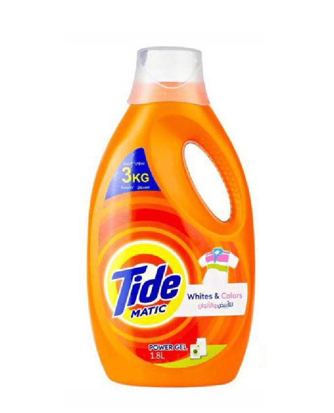 ژل ماشین لباسشویی تاید 1.8 لیتری (Tide)