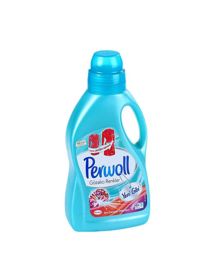 مایع لباسشویی پروول Perwoll مخصوص لباس های رنگی (1L)