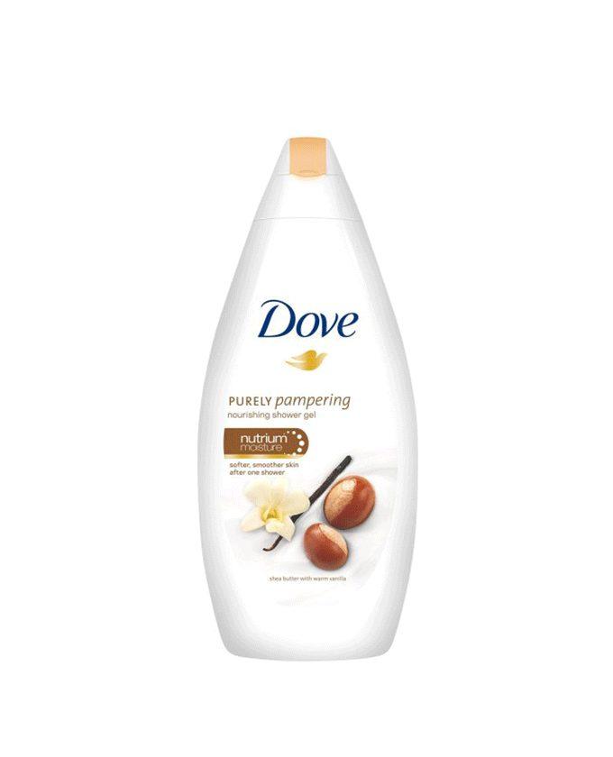 شامپو بدن کرمی داو Dove با عصاره فندوق و وانیل (700ml)