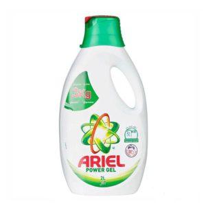 مایع ماشین لباسشویی 2 لیتری آریل Ariel رایحه نسیم کوهستان