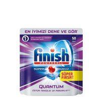 قرص ماشین ظرفشویی فینیش (finish) کوانتوم 50 عددی