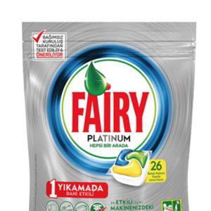 قرص ماشین ظرفشویی فیری Fairy پلاتینیوم 26 عددی
