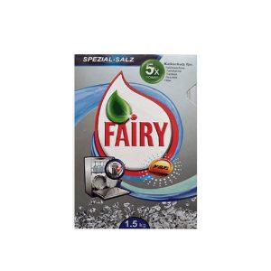 (Fairy) نمک ماشین ظرفشویی فیری 1/5 کیلوگرمی مدل کارتنی