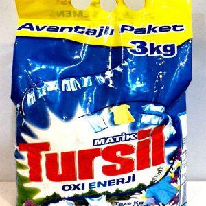 پودر ماشین لباسشویی ترسیل 3 کیلو گرمی Tursil