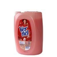 نرم کننده و خوشبو کننده لباس ورنل Vernel با رایحه گل های قرمز 5 لیتری