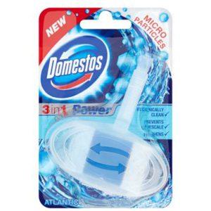 خوشبوکننده توالت فرنگی دامستوس (Domestos) رایحه آتلانتیک