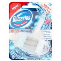 خوشبوکننده توالت فرنگی دامستوس - Domestos رایحه اسپلش نقره ای
