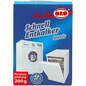 جرم گیر پودری ماشین ظرفشویی اورو (ORO) محصول آلمان (200gr)