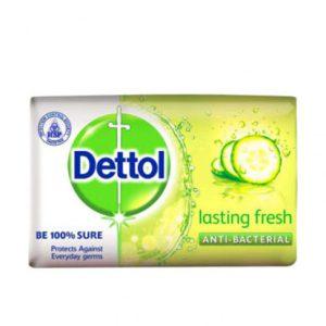 صابون دتول (Dettol) مدل  lasting fresh وزن (۱۰۵gr)  تازه کننده خیار
